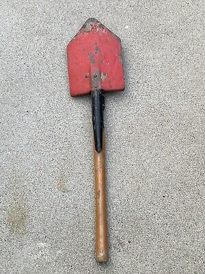 $24.99 • Buy Vintage US Military Entrenching Tool Shovel With Pick Wood Handle