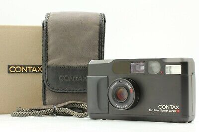 $ CDN1880.84 • Buy 【Exc+++++ In Box】Contax T2 Limited Black 35mm Film Camera W/Case From Japan #122