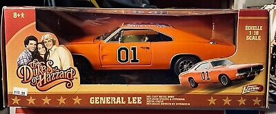 £172.62 • Buy 1969 Dodge Charger Dukes Of Hazzard General Lee Orange By Johnny Lightning 1/18
