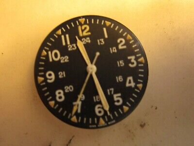 $16.50 • Buy Benrus Military Movement Only With Face 17 Jewels Vintage Wrist Watch 7-30