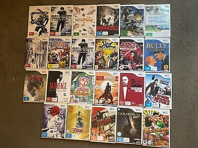 AU10 • Buy Nintendo Wii Games Bundle - PAL - *Select Title From List*