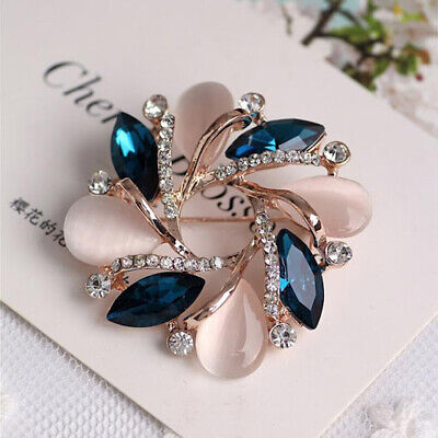 £0.71 • Buy Women Fashion Jewelry  Crystal Brooch Pin For Scarf Buckle Clothing Accessories