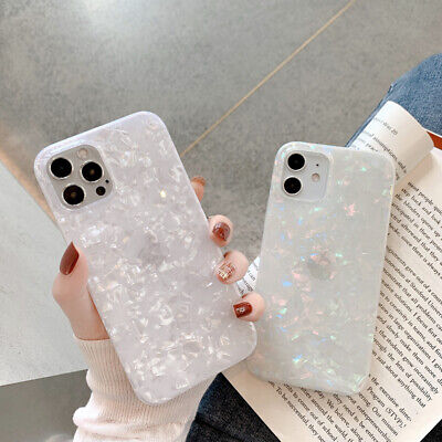 AU9.98 • Buy Granite Marble Phone Case Square Cover For IPhone 7 8 Plus XR XS 11 12 Pro MAX