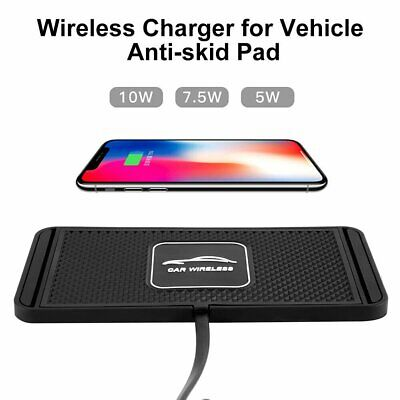 AU21.98 • Buy Car QI Wireless Fast Charging Charger Mat Non-Slip Pad Holder For IPhone Samsung