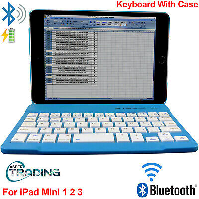 £8.49 • Buy For Apple IPad Mini 1 2 3 4 Gen. Case Stand Cover + Wireless Bluetooth Keyboard