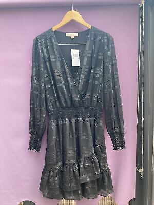 £9.99 • Buy New With Tags Michael Kors Stunning Ladies Black Party Evening Dress Size Medium