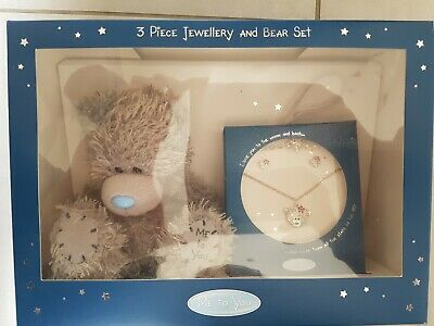 £2.99 • Buy Me To You Plush Tatty Teddy And 3 Piece Jewellery Set Necklace Earrings Bracelet