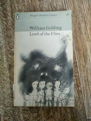 £2 • Buy William Golding Lord Of The Flies Penguin Modern Classic Reprint 1965