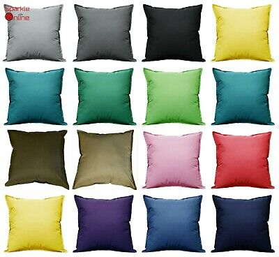 £6.99 • Buy WATERPROOF Outdoor Cushion Cover For Garden Furniture Cushions Seat Bench