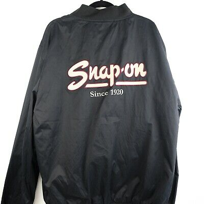 $ CDN56.41 • Buy SNAP ON TOOLS Since 1920 Black Jacket Sz XL Embroidered Stitched Choko