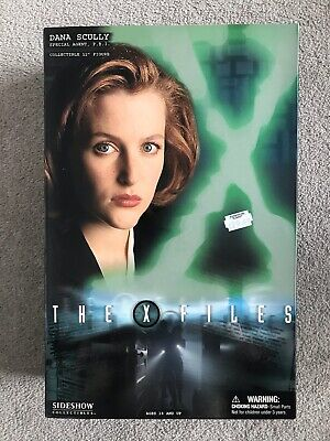 £50 • Buy Sideshow Collectibles THE X-FILES: DANA SCULLY 12  1:6 Agent Series 1 2004