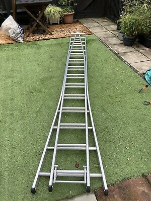 £100 • Buy Ramsay Two Section Pointer Ladder - 3.5m Extending To 6.5m