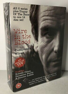 £11.99 • Buy Wire In The Blood Completely Wired (2009) ITV 14-Disc Boxset BRAND NEW & SEALED