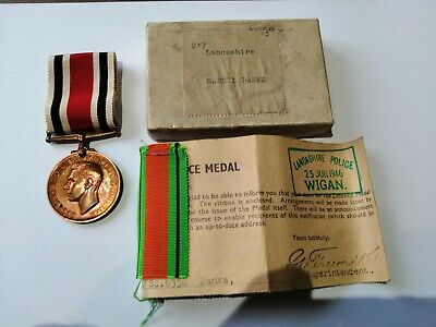 £22 • Buy Rare WW2 Special Constabulary LS Medal + Defence Medal-Original Box -see Details