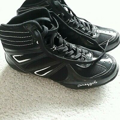 £5.50 • Buy Boot Trainers,Pineapple, Black An White,size 4,ideal For Jogging,running,