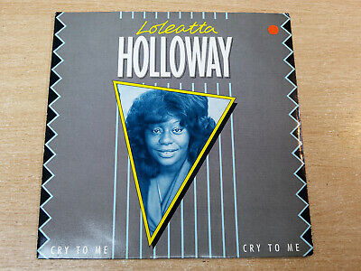 £7.99 • Buy EX- !! Loleatta Holloway/Cry To Me/1984 RCA 7  Single