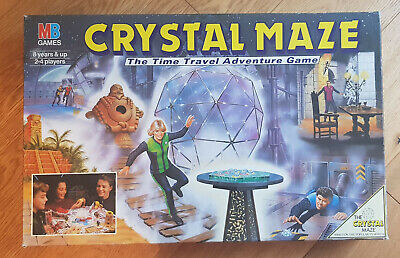 £15.99 • Buy Vintage Crystal Maze Board Game. 100% Complete. Very Good Condition. Mb 1991