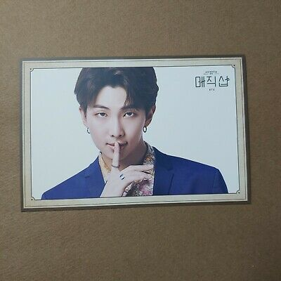 $3.99 • Buy BTS [5TH MUSTER MAGIC SHOP] U+5G Army Booth Fanmeeting Postcard RM