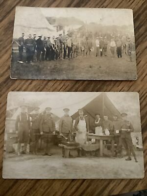 $9.99 • Buy Early 1915 Postcard Military There Are 2 Post Cards  Lot #2