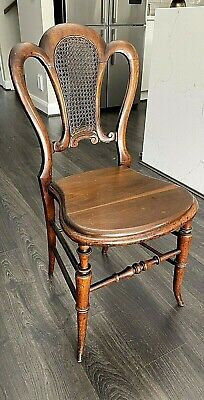 AU46 • Buy Vintage/Antique Timber Chair With Rattan