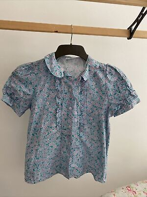 £9 • Buy Vintage Clothkits Ditsy Floral Cotton Blouse Small