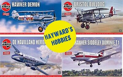£14.45 • Buy Airfix Vintage Classics 1/72,1/144, Aircraft Concorde Dominie Heracles Demon