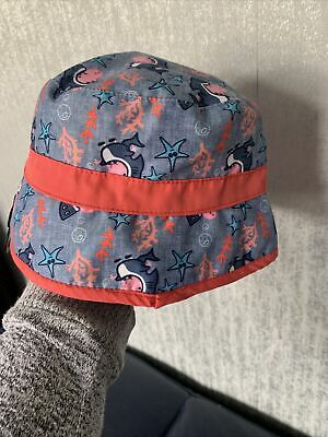 £0.99 • Buy Peppa Pig Seaside Theme Summer Bucket Sun Hat Totally Jaw-some Age 1 - 3 Years
