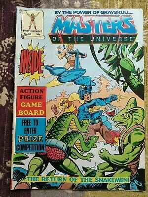 $4.17 • Buy Vintage He-Man And & The Masters Of The Universe Motu UK Comic 30th Issue No. 30
