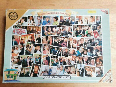 £5 • Buy Coronation Street Double Sided 1000 Piece Jigsaw Puzzle By Falcon
