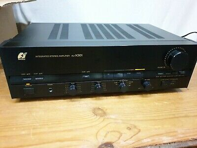 £145 • Buy Sansui Au X 301 Integrated Stereo Amplifier Very Loud