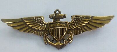 $20.40 • Buy WWII US Navy Military Pilot Wing Pin