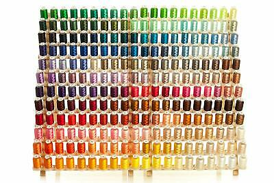 $79.99 • Buy 260 Spools Polyester Embroidery Machine Thread - STUNNING QUALITY THREAD