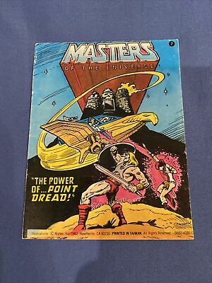 $3.99 • Buy Vintage Masters Of The Universe Comic #7 The Power Of Point Dread MOTU He-man