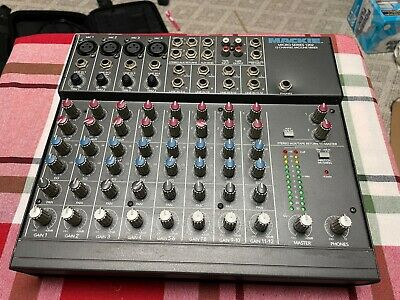 $51 • Buy Mackie Micro Series 1202 12-Channel MIC/LINE Mixer With Carrying Bag!