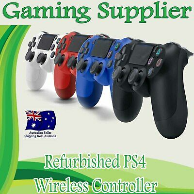 AU48.99 • Buy Refurbished V2 Wireless Joystick Dual Controller For Sony Playstation PS4