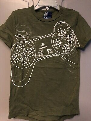 £3.95 • Buy Playstation Controller T-Shirt 6 Years Next Front & Back Print