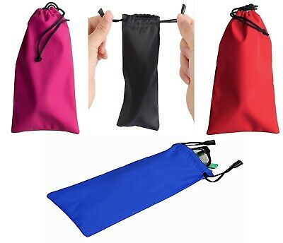 £3.49 • Buy Drawstring Sunglasses Case Phone Pouch Glasses Driving Reading Glasses Protect