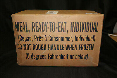 $67.85 • Buy 12 Pack Surplus Military Meals Ready-to-Eat MRE CASE B Inspect Date 09/2022 NEW!