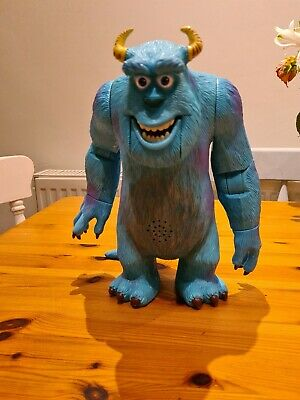 £8 • Buy Monsters Inc Talking Sully Toy 6  Inch Hasbro 2001 Action Figure Disney Pixar