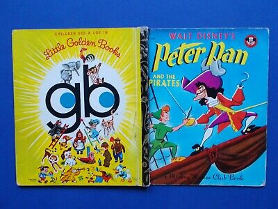 £5.81 • Buy A LITTLE GOLDEN BOOK - PETER PAN And The PIRATES - 1973 - VINTAGE HC **FREE POST