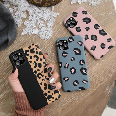 AU9.98 • Buy Leopard Print Case For IPhone 11 Pro MAX XR X SE 12 Shockproof  Silicone Cover