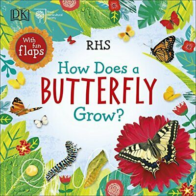 £10.37 • Buy RHS How Does A Butterfly Grow? By Royal Horticultural Society New Book