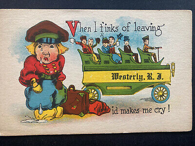 $6 • Buy Westerly RI Antique Post Card 1920's?