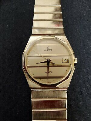 $2535 • Buy 14kt Yellow Gold Concord Mariner Mens Watch
