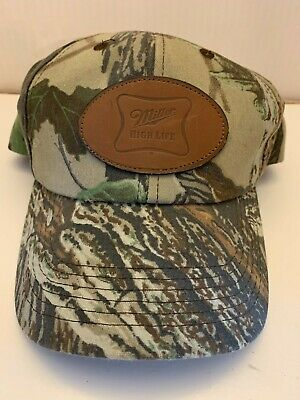 $20 • Buy Vtg Miller High Life Beer Camo Patch Snapback Cap K Products Made In Usa