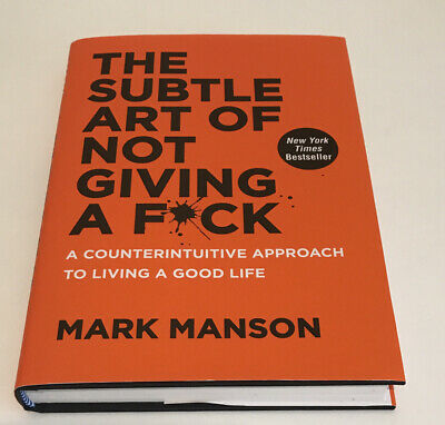 AU40.20 • Buy The Subtle Art Of Not Giving A F*Ck: A Counterintuitive Approach To Living A...
