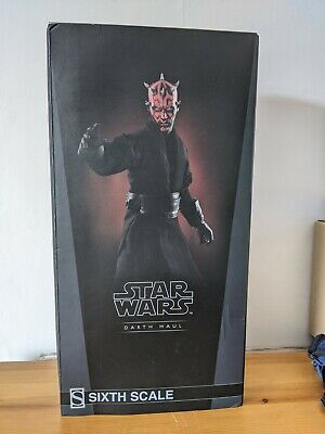 £170 • Buy Sideshow Collectibles 1/6 Star Wars Darth Maul Battle On Naboo. Inc Extra Robe