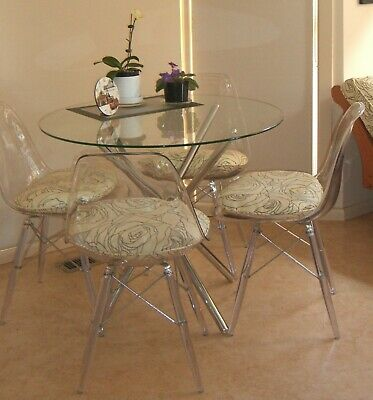 AU70 • Buy Round Glass Dining Table