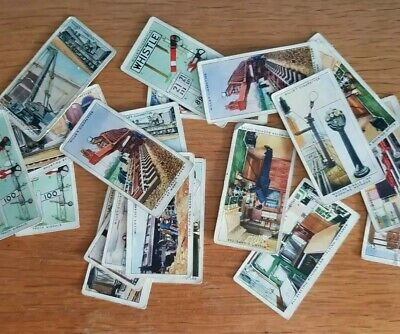 £2.50 • Buy Vintage WILLS Cigarette Cards RAILWAY EQUIPMENT 1939 Duplicates Pre-owned