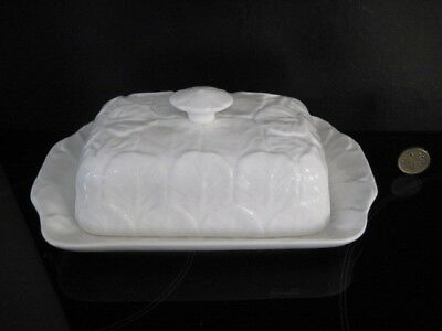 £144.99 • Buy Wedgwood Countryware Lidded Butter Dish White English China Coalport Cabbage